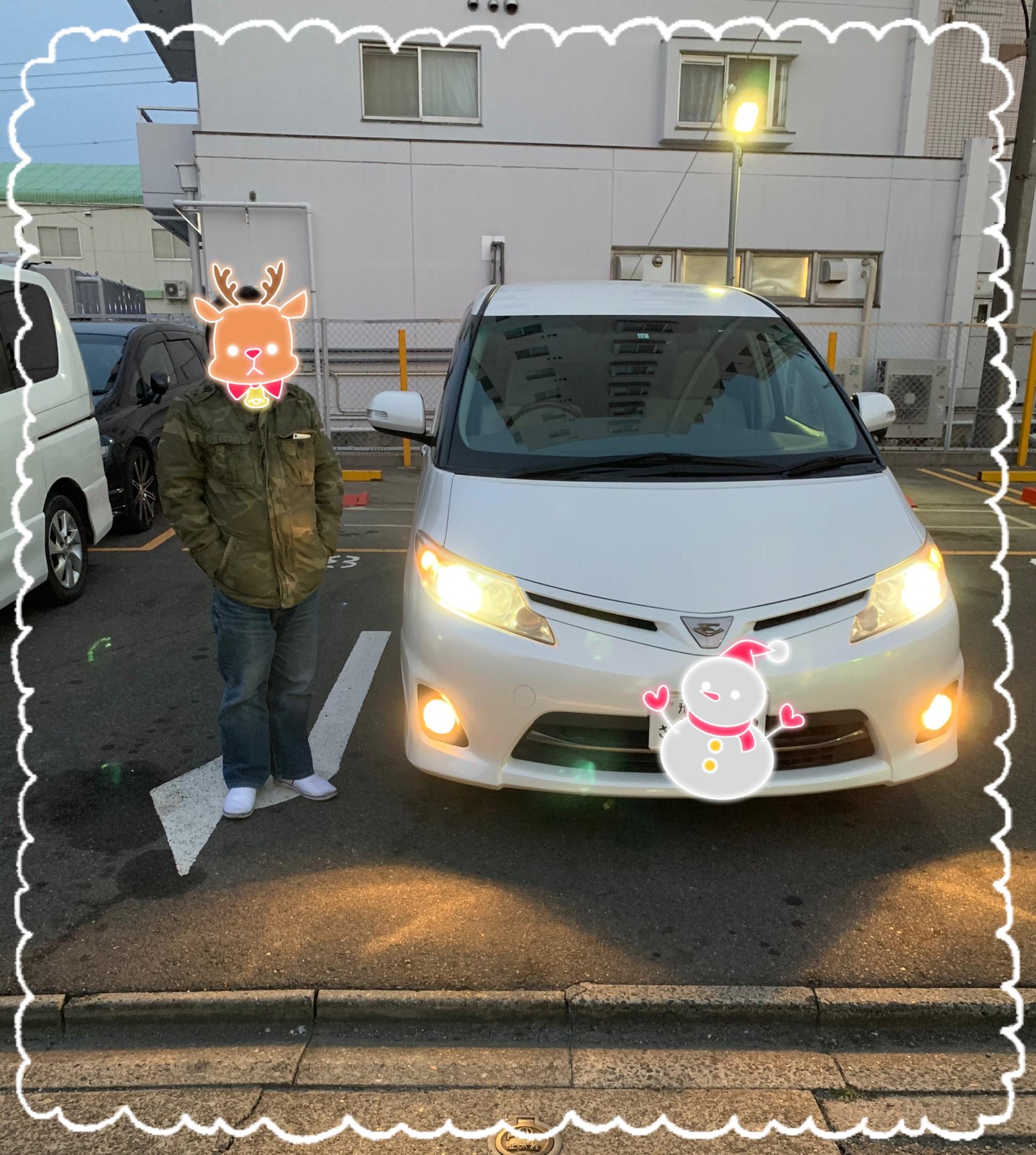 奈良 から トヨタ エスティマ ご納車 ♪