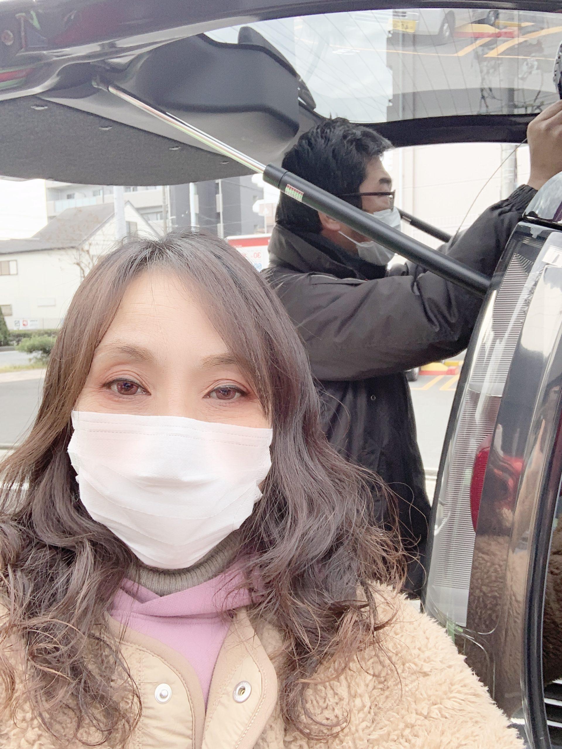 ご納車の準備♪ 愛知 名古屋 自社ローン マイカー横綱くん(*^_^*)