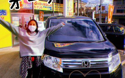 本日入庫♪ ホンダ ステップワゴン (^^)v