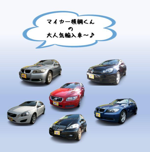 愛知 名古屋自社ローン マイカー横綱くん で外車(輸入車)は???